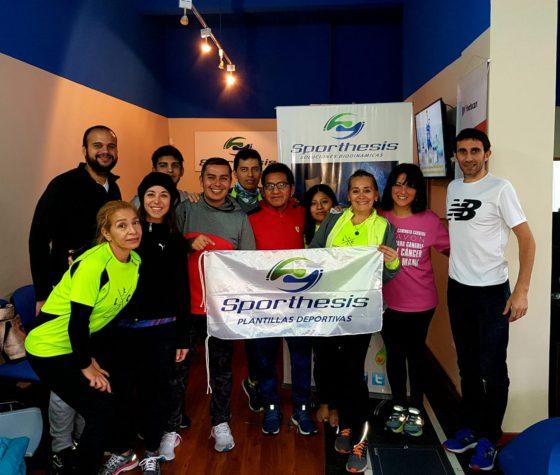 Estudio de pisada para el Running Team de Locos Por Correr