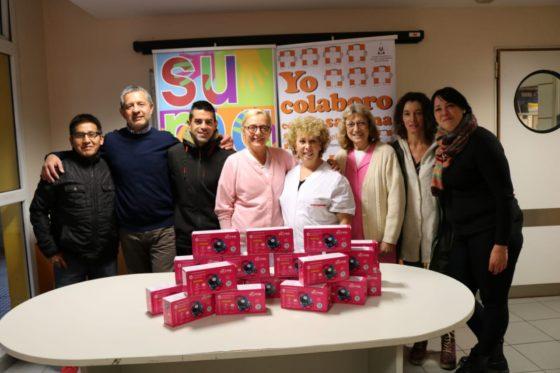 Desafío 100K PLUS y el running solidario: se entregó la donación al hospital pediátrico