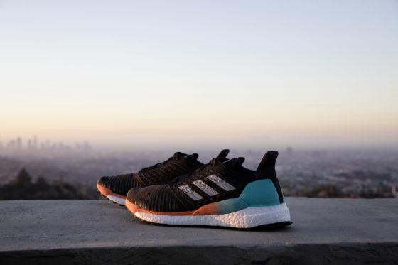 adidas running presenta Solarboost, diseñadas para brillar