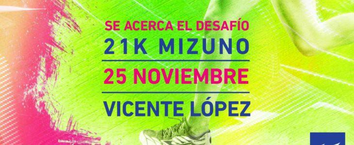 Llega la sexta edición de la Mizuno Half Marathon en Vicente López