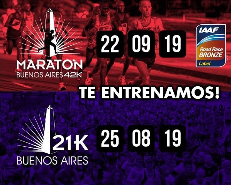 21K 42K Buenos Aires entrenamiento Locos Por Correr Running Team