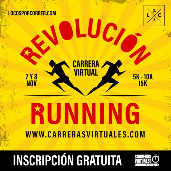 """""""Revolución Running"""" LA CARRERA: cómo es y cómo se participa en la prueba virtual?"""