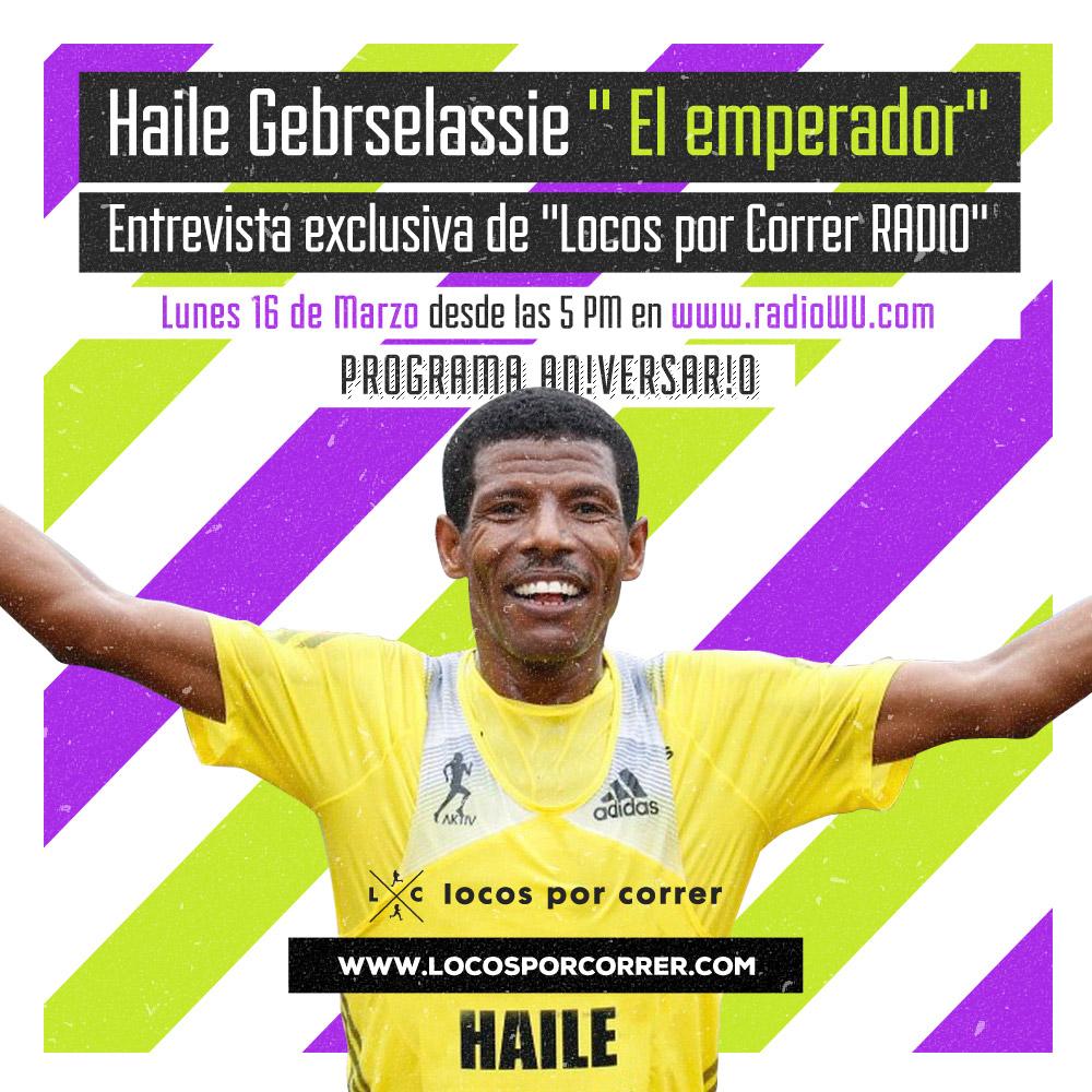 Haile Gebrselassie entrevista Locos por correr Argentina 01
