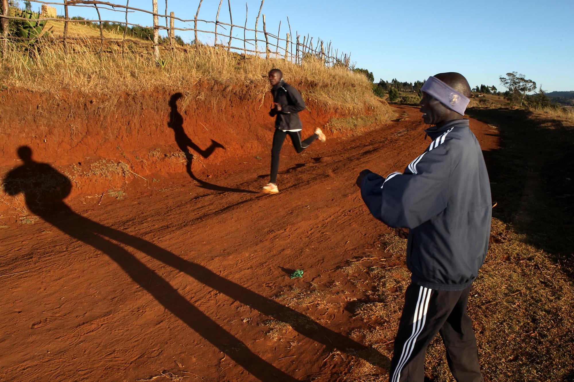 Kenia running