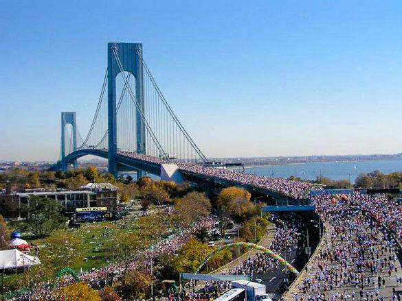 new-york-marathon-verrazano-bridge-aerial locos por correr