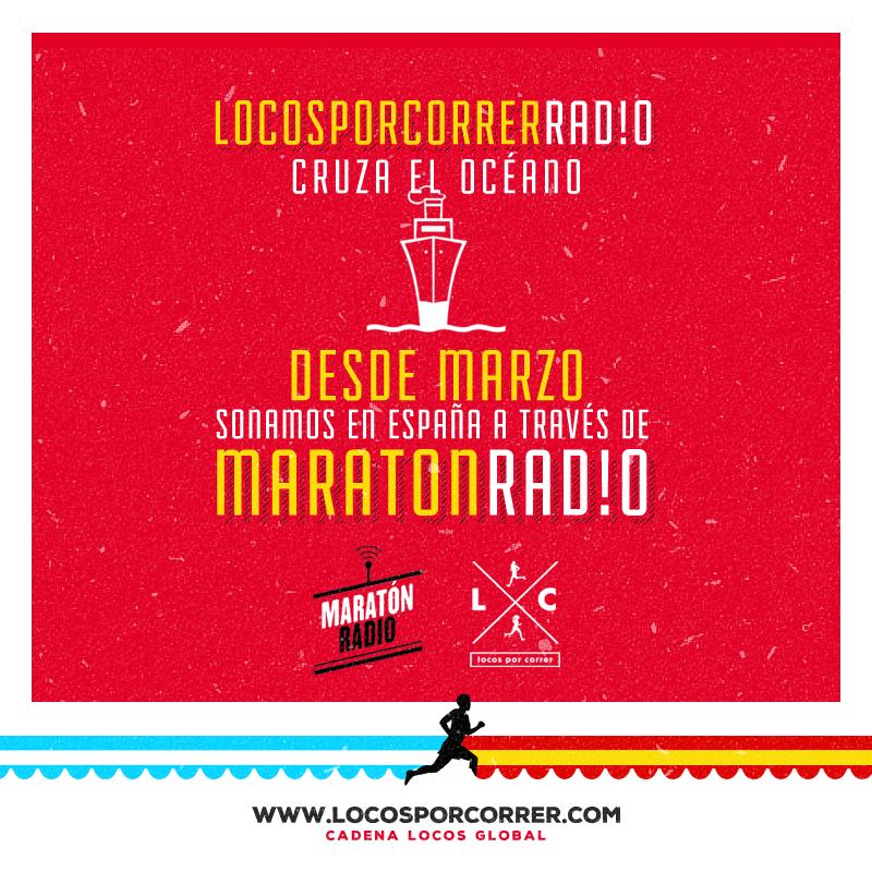 Locos Por Correr en Maraton radio España