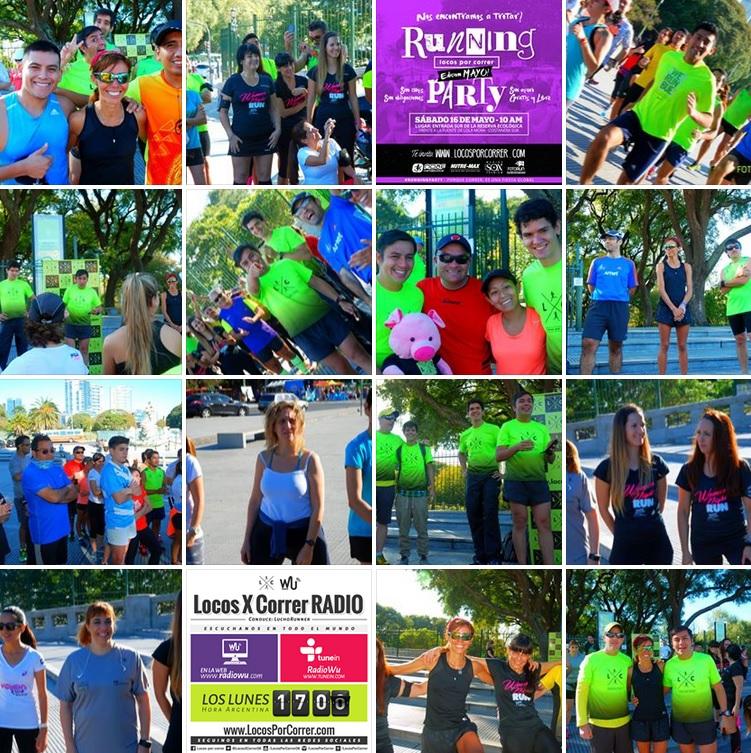 Running Party Locos por correr Mayo 2015