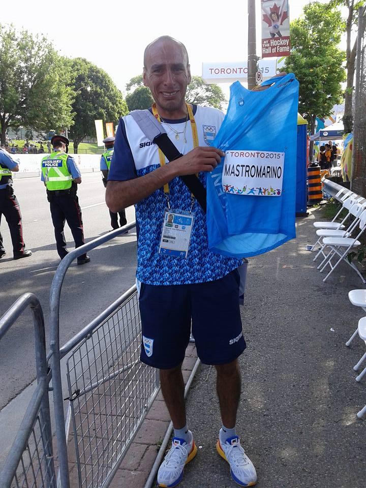 MAriano MAstromarino Leo Malgor Toronto Panamericanos Locos Por correr 01