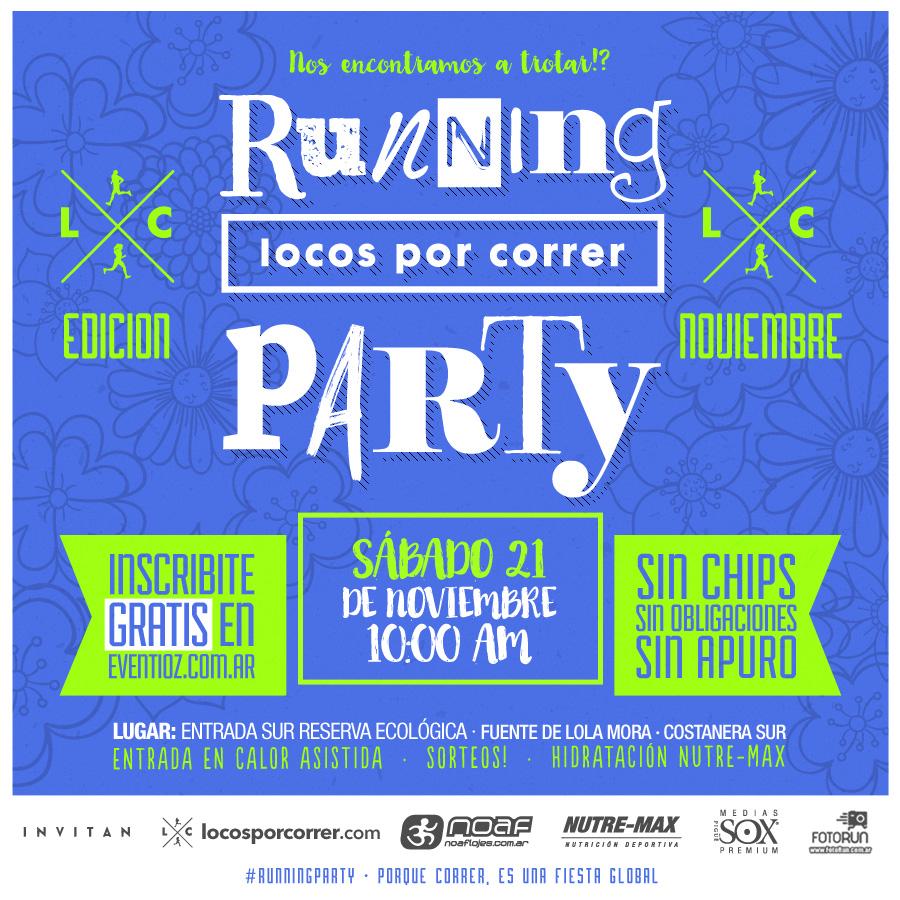 Running Party - Noviembre 2015