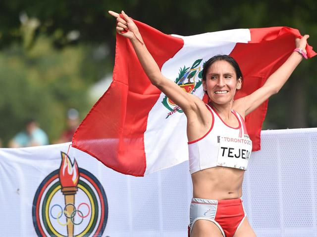 Gladys Tejeda doping positivo Locos por correr 01