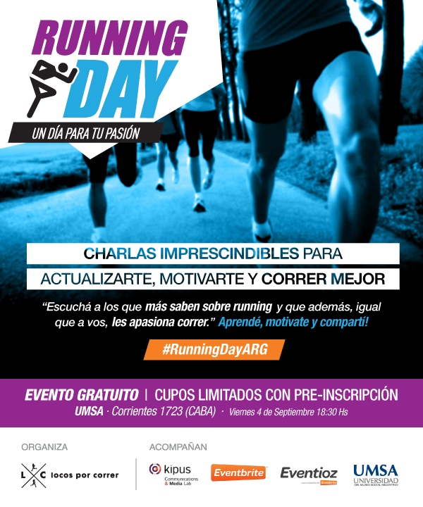 Running Day Argemtina - Flyer