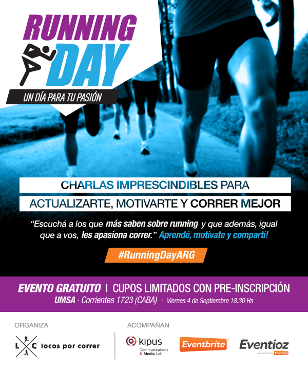 Running Day Argentina - Flyer