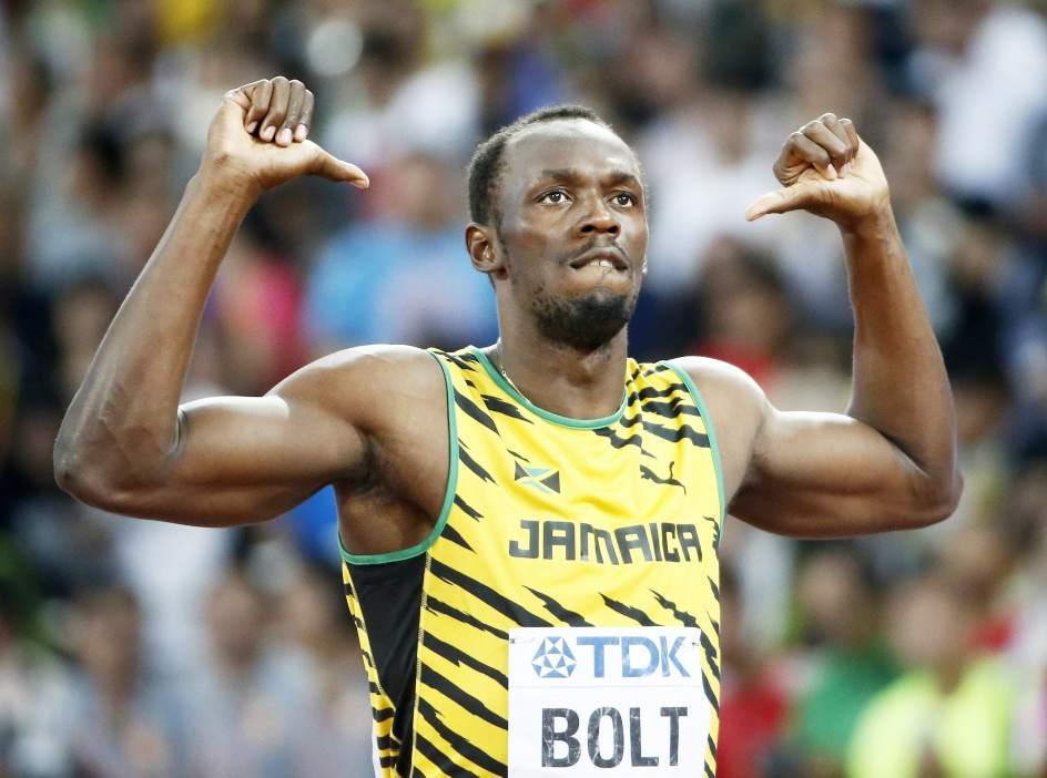 USain Bolt campeon 100 metros Beijing locos por correr 01