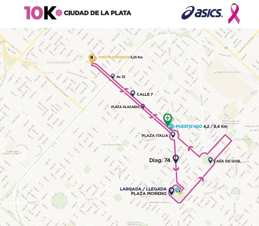 21k La Plata 2015 Recorrido 10k Locos Por Correr 02