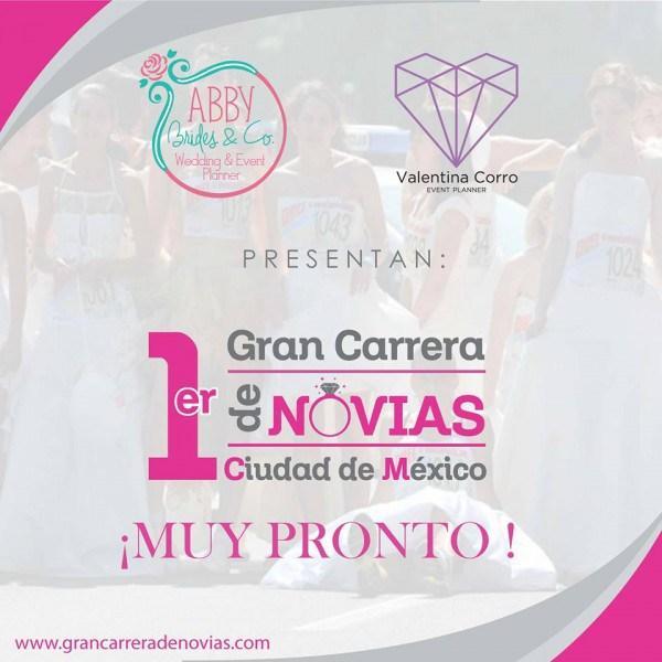 Carrera de novias 2016 mexico Locos por correr