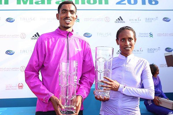 Ganadores Maratón de Dubai 2016