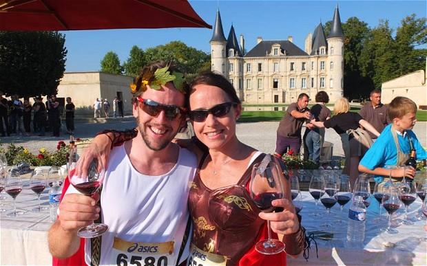Maraton vino Locos por correr