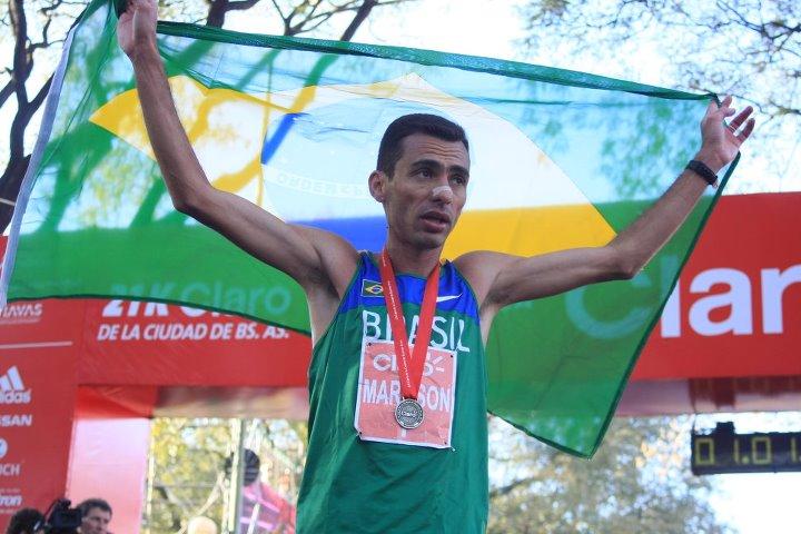 Marílson en Buenos Aires 2011 - Locos por correr