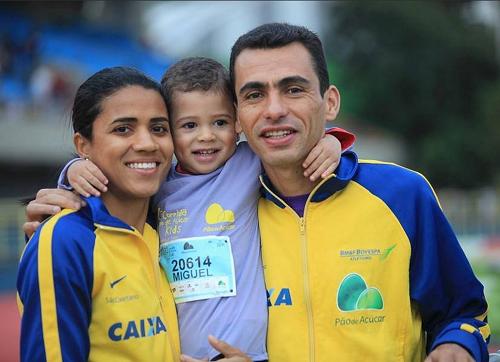 Marílson y su familia - Locos por correr