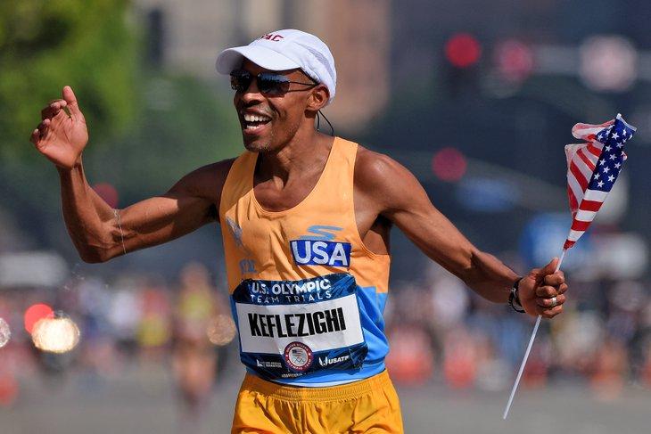 Meb Keflezighi olympic trials 2016 - Locos por correr