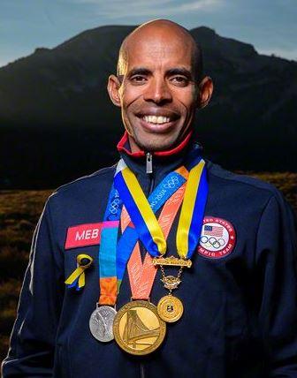 Meb y sus principales medallas - Locos por correr