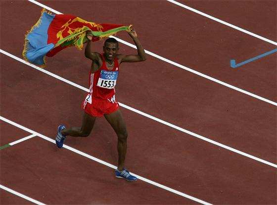 Zersenay Tadese bronce en Atenas 2004 Locos por correr