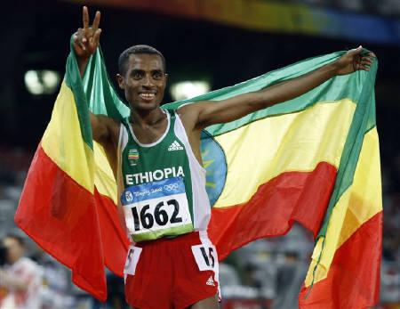 Bekele campeón en Beijing 2008 - Locos por correr