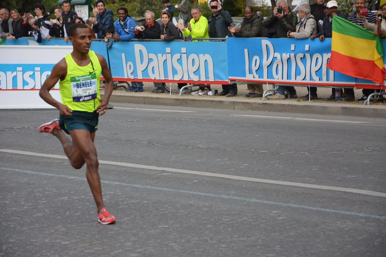 Bekele en París - Locos por correr