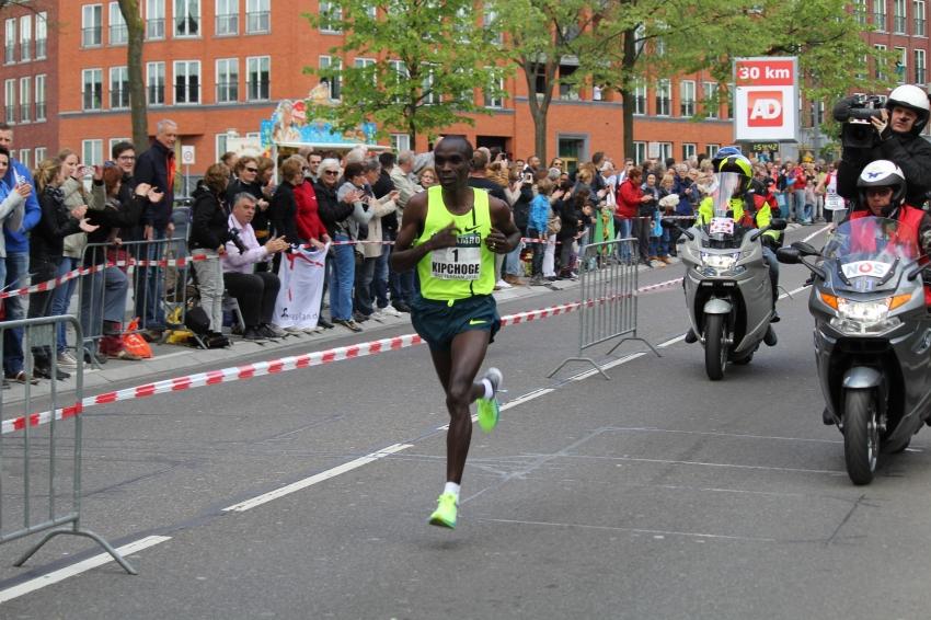 Eliud Kipchoge Rotterdam 2014 - Locos por correr
