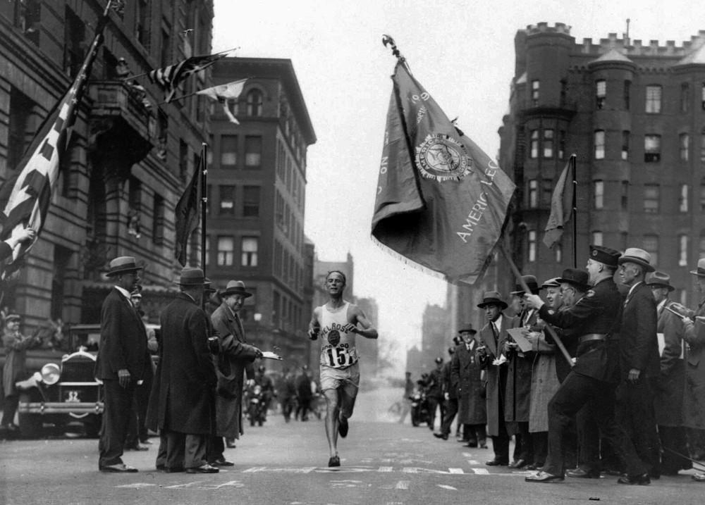 Maratón de Boston 1930 Locos por correr