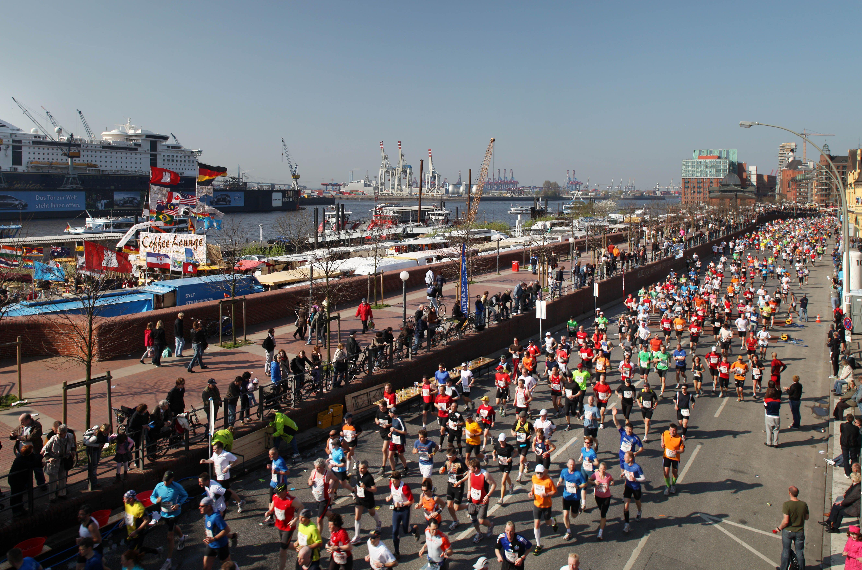 Maratón de Hamburgo y el puerto - Locos por correr