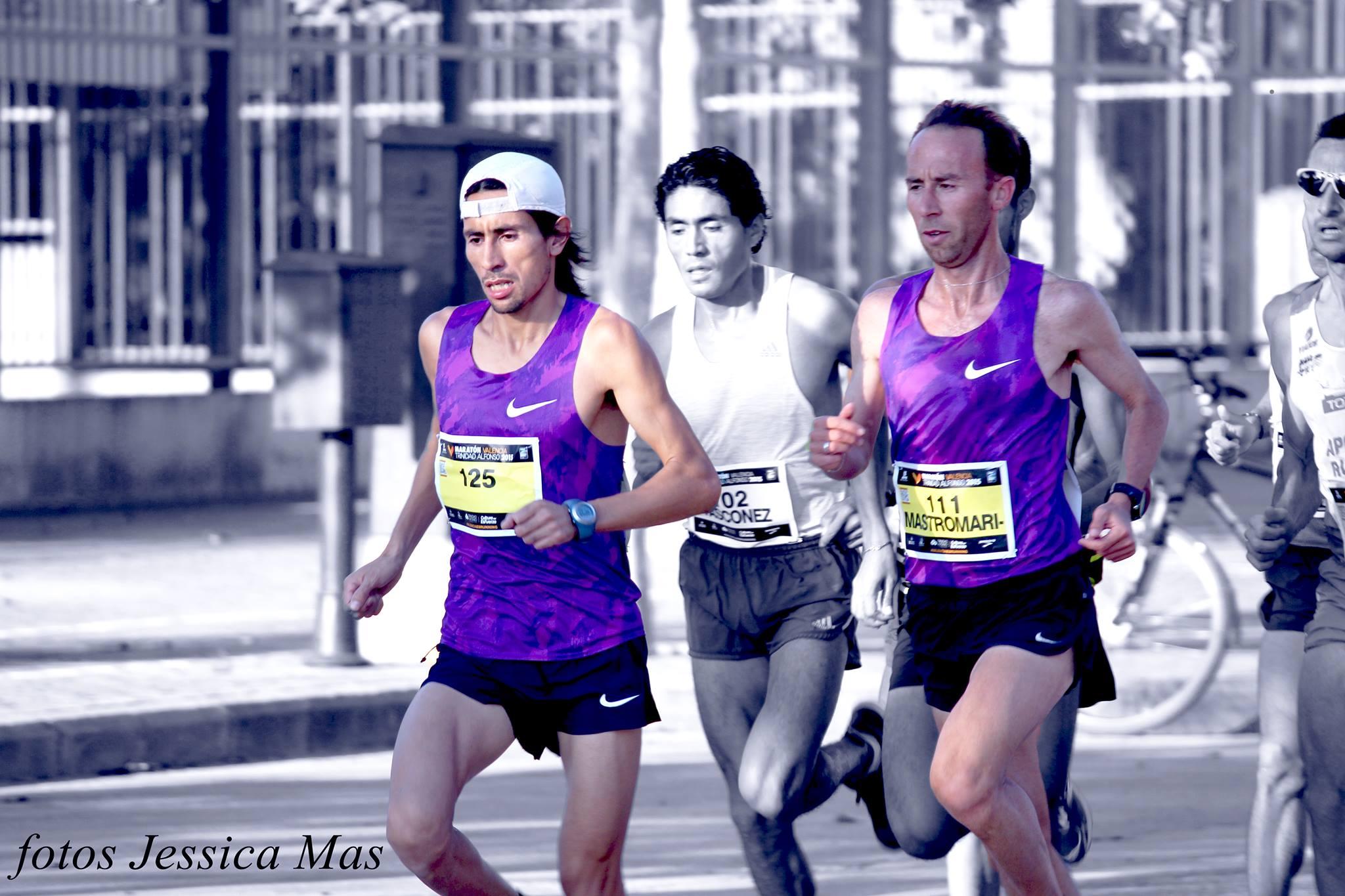 Miguel Barzola Mariano Mastromarino Valencia Locos Por Correr 01