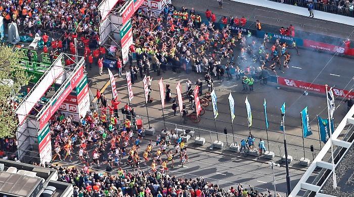 Salida Maratón Rotterdam - Locos por correr