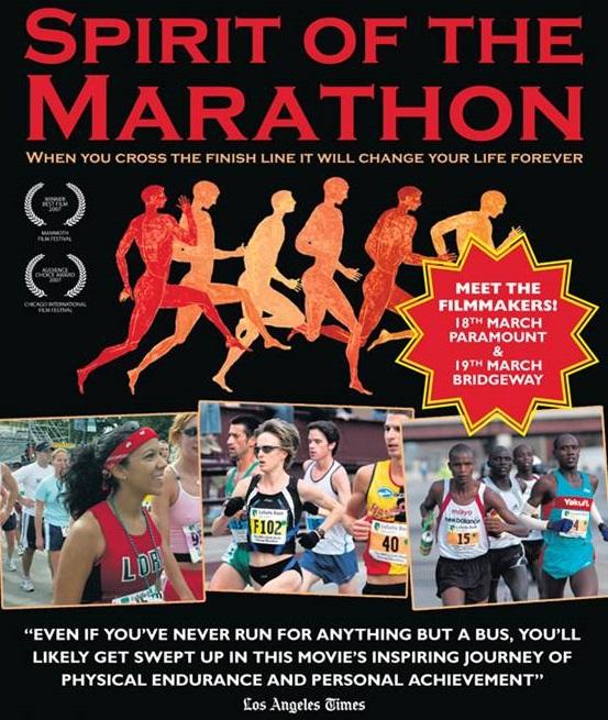Cine Runner el espiritu de la maraton