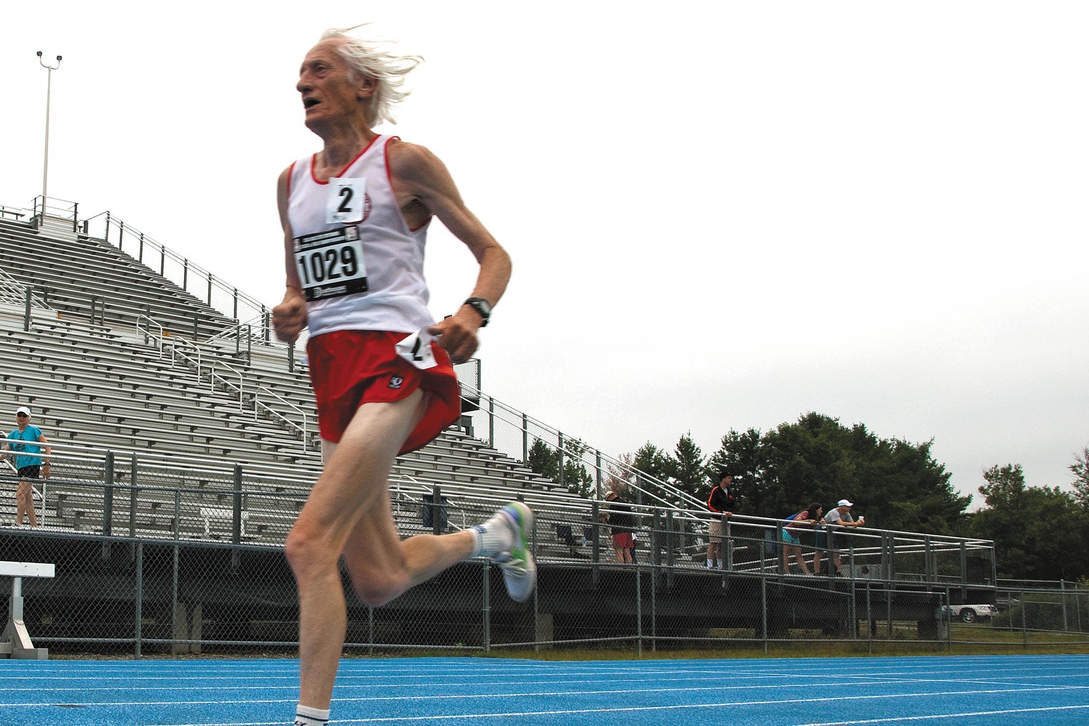 Ed Whitlock - récord mundial a los 85 años - Locos por correr