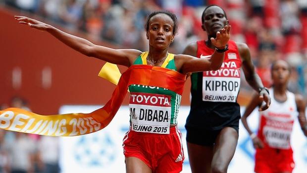 Mare Dibaba a la maratón olímpica de Rio 2016 - Locos por correr