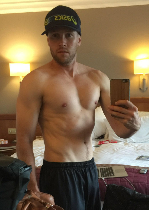 Ryan Hall - transformación Locos por correr