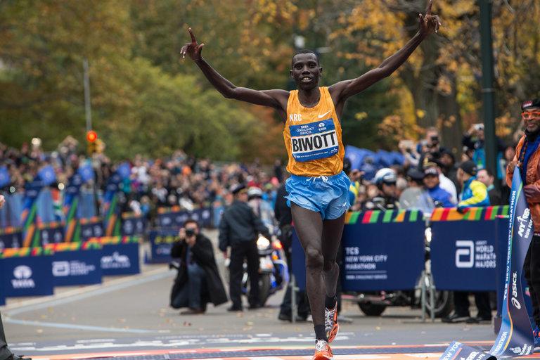 Stanley Biwott - maratonista olímpico de Kenia - Locos por correr