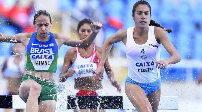 Ibero-Americano 2016, evento-teste de Atletismo para os Jogos Olimpicos 2016. Est‡dio Ol'mpico do Engenh‹o - FOTO: WAGNER CARMO/CBAT