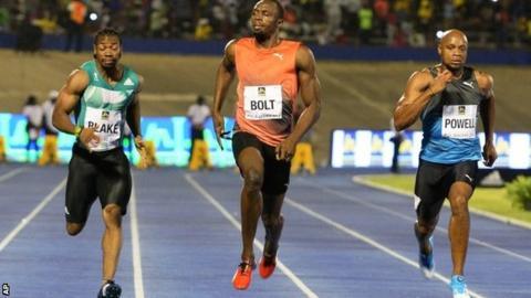 Bolt, Blake y Powell - Locos por correr