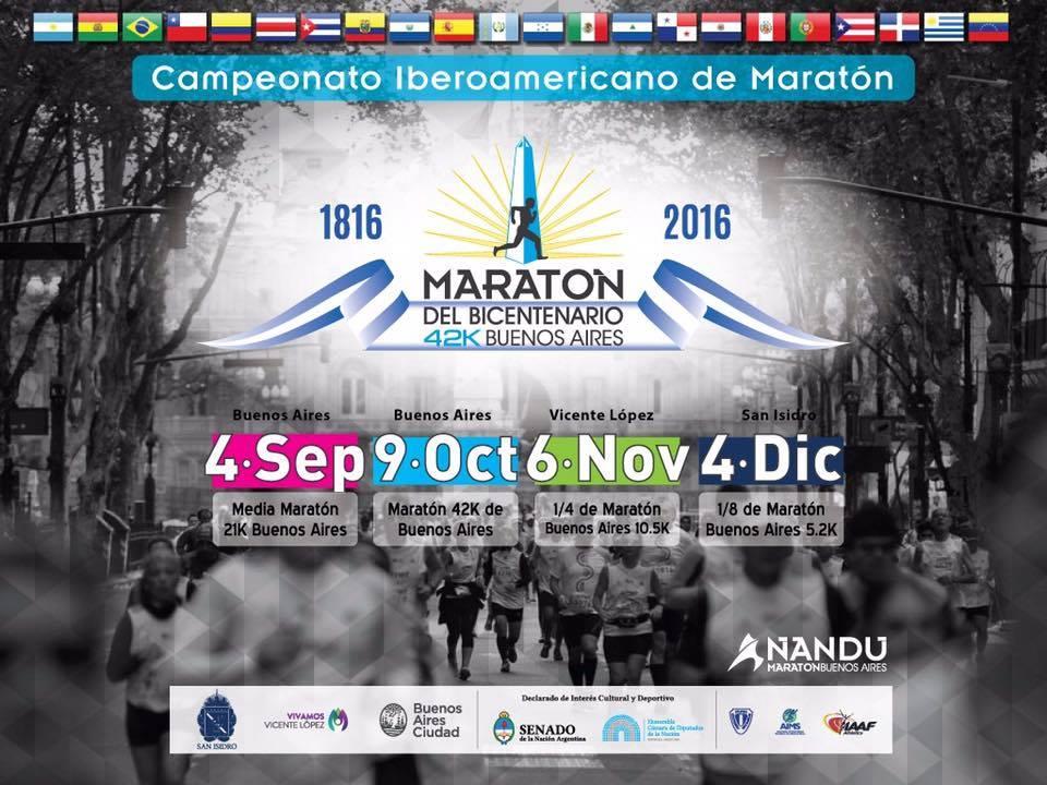 Maraton de Buenos Aires 2016 Locos Por correr fecha e inscripciones