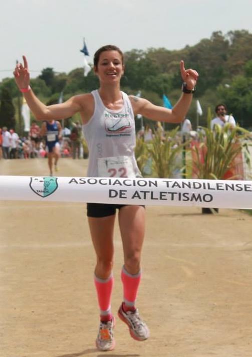 Maria lujan Urrutia locos por correr