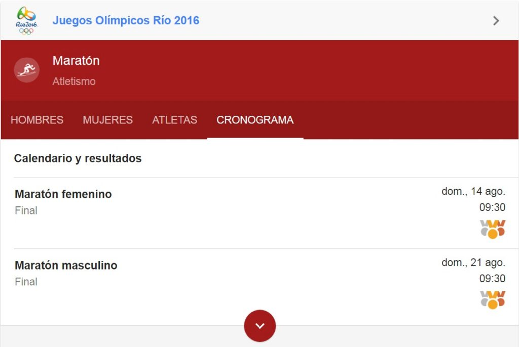 Horario Maratones Olímpicas Río 2016 Locos Por Correr