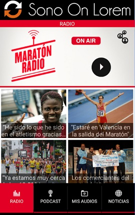 Maraton Radio - APP