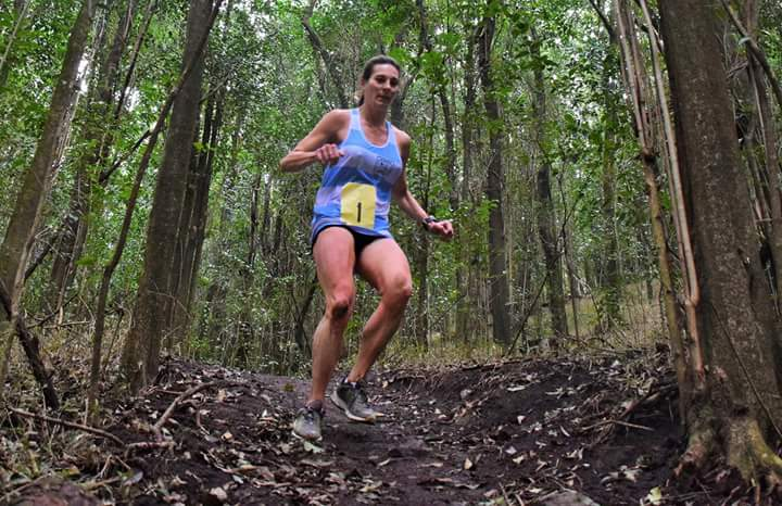 Mariela Gallini atleta de Los Ñandúes
