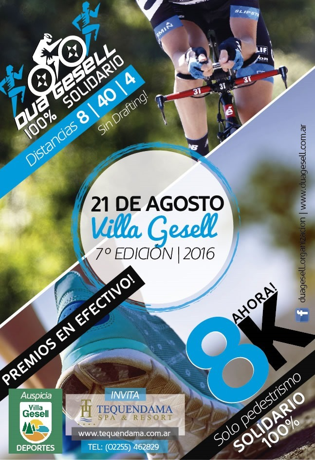 Duatlón Villa Gesell Solidario