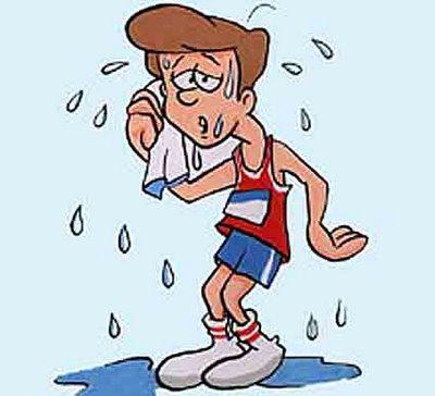 Locos por Correr transpiracion
