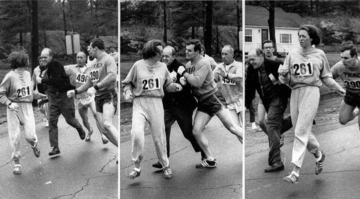 Maraton de Boston 2017 Boston MarathonRoberta Gibb 2017 Resultados Locos por Correr 06