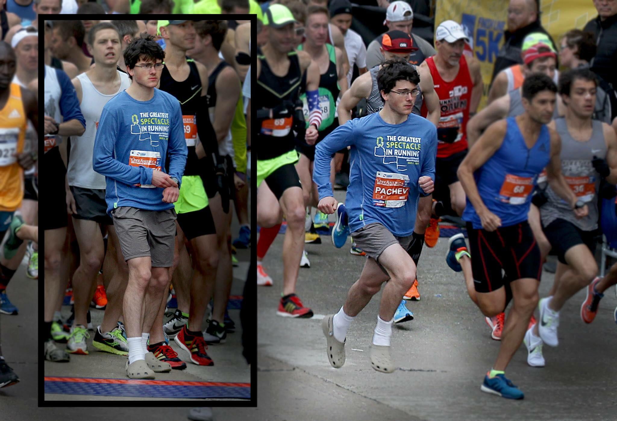 Crocs media maratón Locos Por Correr 06