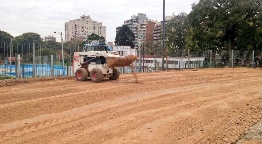 Pista parque Chacabuco